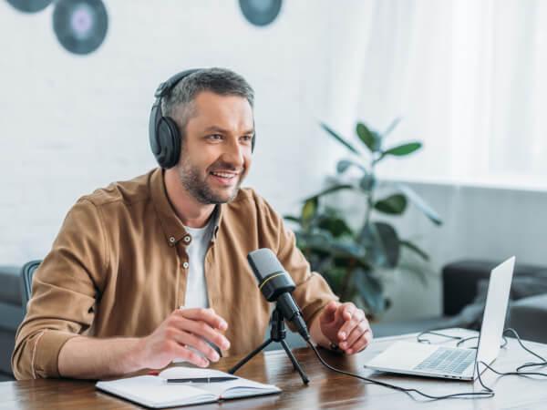 Josh L podcasting